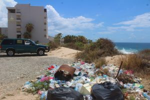 Tourist asks for solution of clandestine dump in hotel zone