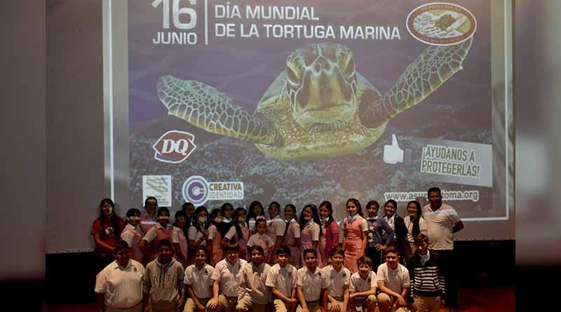 Asupmatoma celebra Día Mundial de la Tortuga Marina