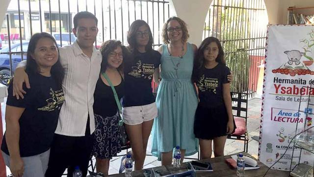 """Sala de Lectura Hermanita de Ysabela presenta poemario """"Cinco Peces Raros"""" de Calafia Pozo"""
