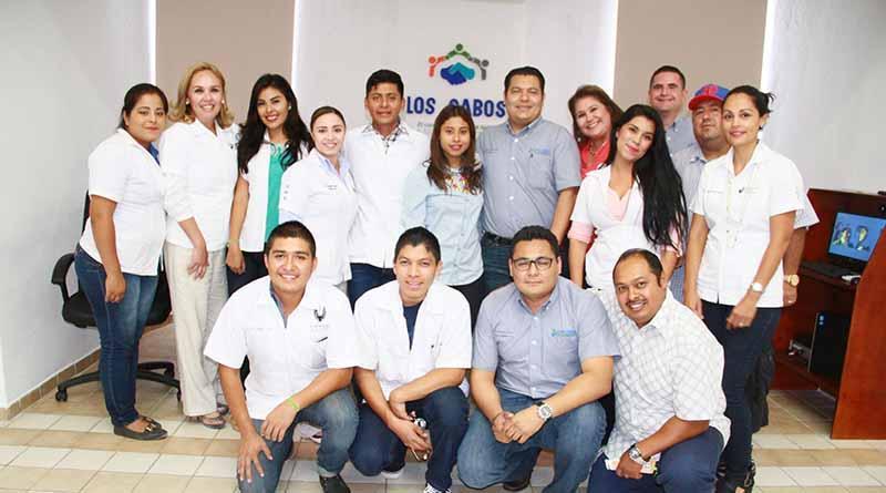 Alumnos de la UGC realizán prácticas escolares en la Delegación de CSL