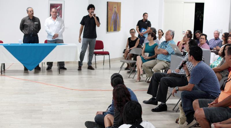 Presentan el proyecto Senda Rupestre en la Galería Carlos Olachea