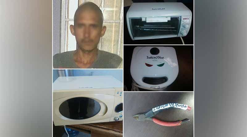 Capturan elementos de la Policía Municipal a sujeto por robo a casa a habitación