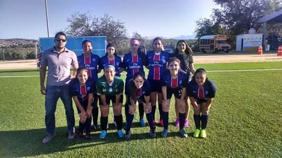 Gana Choyeritas de Los Cabos torneo de futbol femenil de la zona norte del municipio