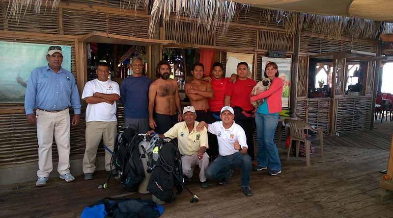 Gobierno e iniciativa privada realizan campaña de limpieza terrestre y submarina en playas de CSL