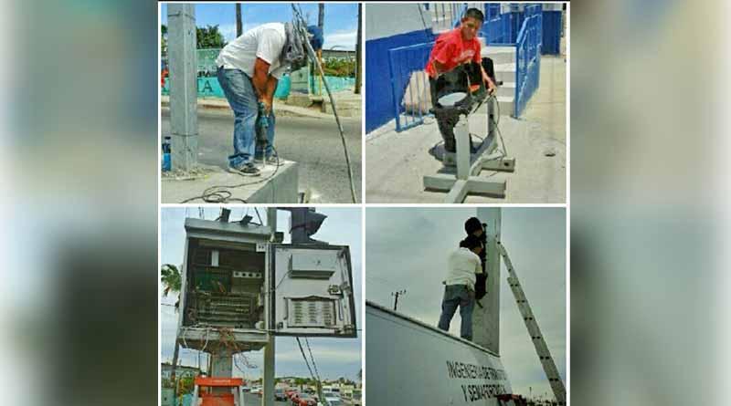 Gobierno de Los Cabos rehabilita semáforos sobre la carretera Transpeninsular