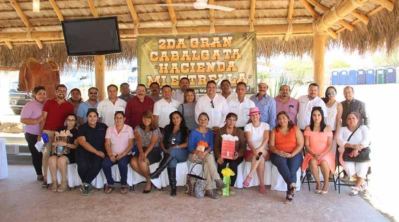 Organizan Segunda Cabalgata Hacienda Mi Estrella en Miraflores