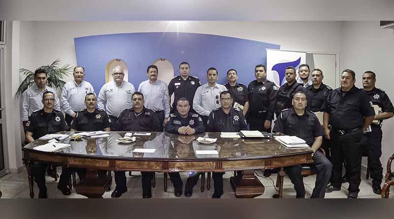 Presentan Programa de Reorientación Operativa Policial para el Municipio de La Paz.
