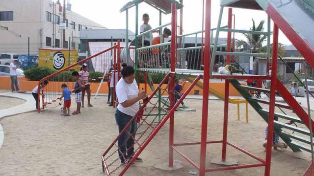 Rehabilitan parque de la colonia Buenos Aires en San José del Cabo