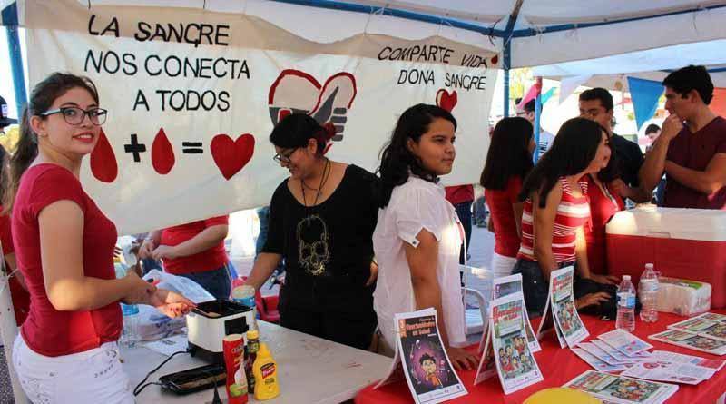 Con marcha en el malecón de La Paz celebran en BCS el día del donador altruista de sangre