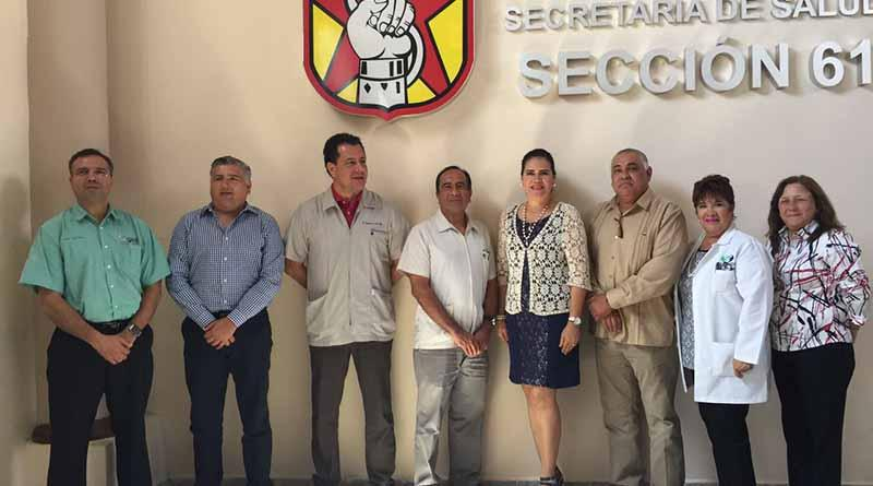 Secretaría de salud de BCS refrenda voluntad de acuerdos con SNTSSA para mejorar atención a sudcalifornianos