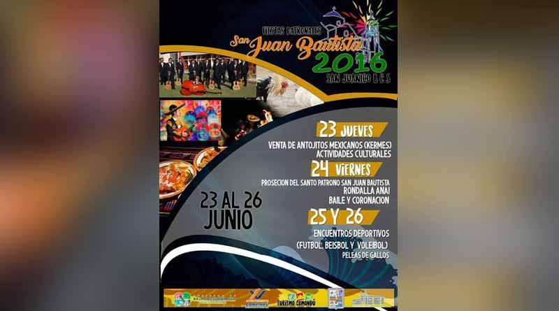 Del 23 al 26 de Junio, Fiesta e San Juanico
