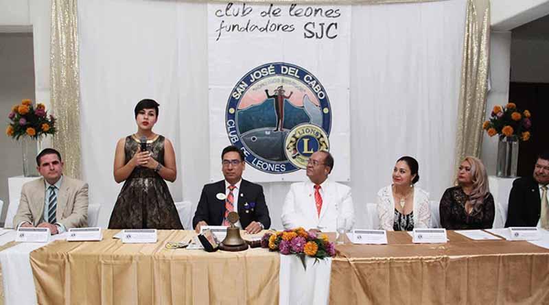 Toma de protesta y entrega de acta constitutiva a integrantes del nuevo Club de Leones SJC