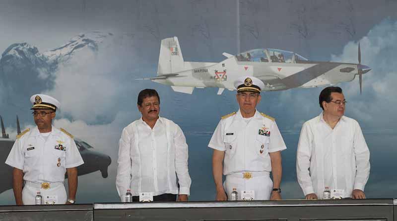 Reconoce Alcalde de La Paz colaboración de la Secretaría de Marina