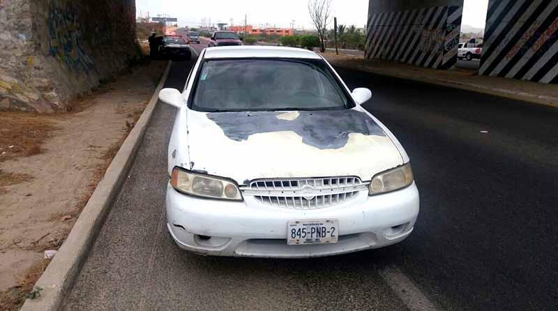 Detiene Policía Federal en SJC a mujer que conducía carro robado