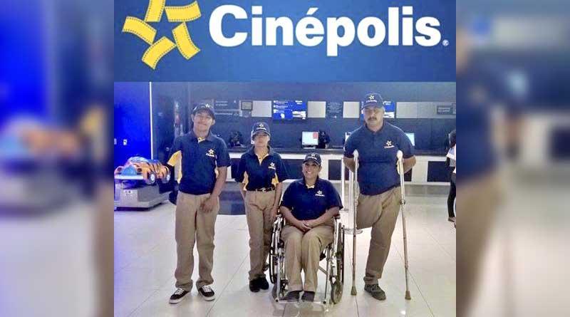 Contrata Cinepolis a cinco personas con discapacidad en CSL: Ocampo