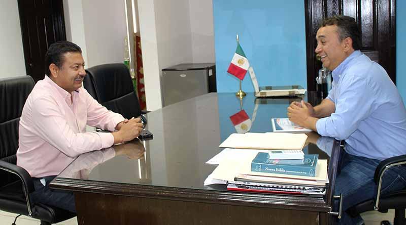 Ayuntamiento de Comondú y Gobierno del Estado, Suman Esfuerzos en Favor de Actividades Cívicas