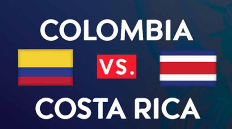 Colombia jugará con nómina combinada frente a Costa Rica