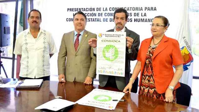 Lanza Congreso convocatoria para elegir a tres consejeros de la Comisión Estatal de Derechos Humanos