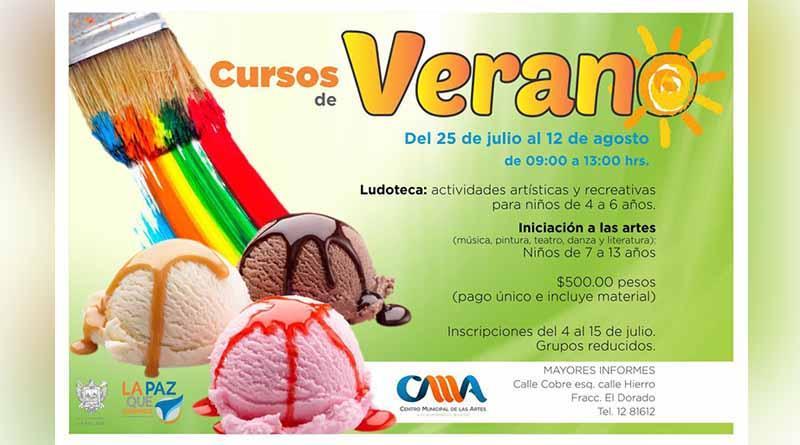 Invita Instituto Municipal de Cultura a cursos de verano