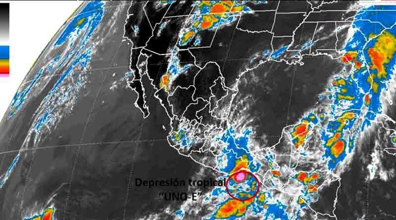 Se forma la primera depresión tropical de la temporada en el Pacífico