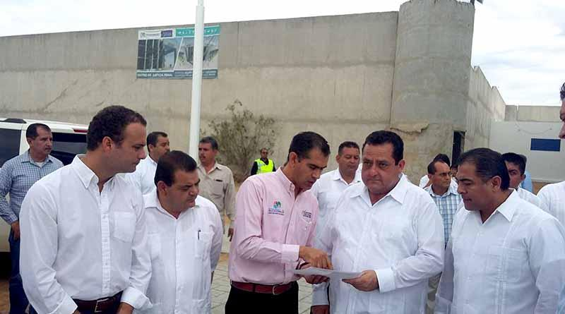 Anuncia Gobernador visita de Osorio Chong el martes para inaugurar Centro de Justicia Penal