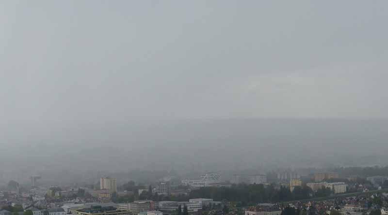 Onda tropical 6 ocasionará chubascos con tormentas en sureste del país