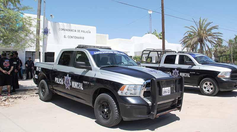 Entregan patrullas en las comunidades de Chametla, Centenario y San Pedro.