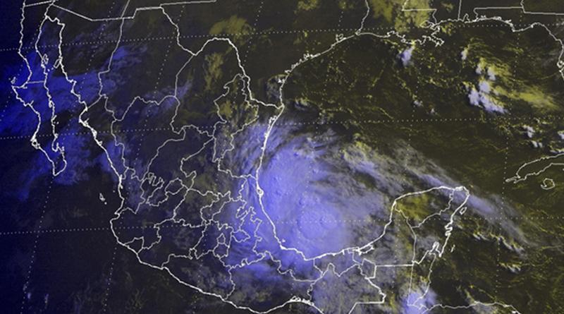 Tormentas muy fuertes por Danielle en SLP, Hidalgo, Puebla y Veracruz