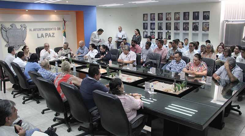 """Realizarán jornadas de participación ciudadana """"Diez por La Paz"""", en conjunto los tres niveles de gobierno"""
