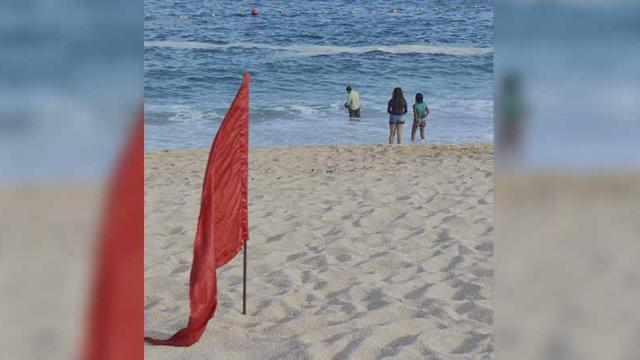 Permaneció oleaje elevado en costas locales