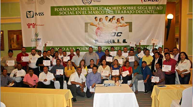 Culmina Curso-Taller ''Formando Multiplicadores sobre la Seguridad Social'' organizado por CROC Nacional