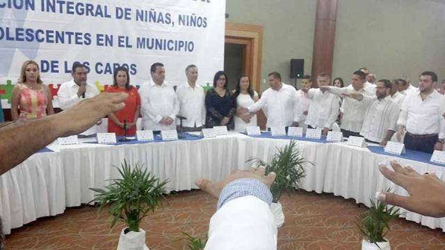 Instalan Sistema Municipal de Protección Integral de Niñas, Niños y Adolescentes en Los Cabos