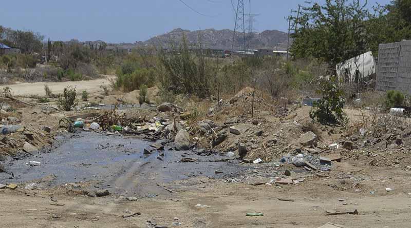 Total de arroyos en CSL contaminados por basura y escombros: SP