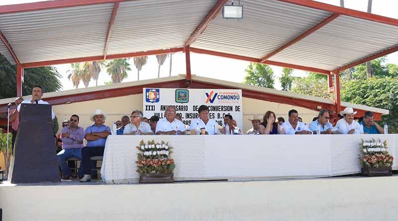 Ceremonia conmemorativadel 31º Aniversario de la Conversión de Villa a Ciudad Insurgentes