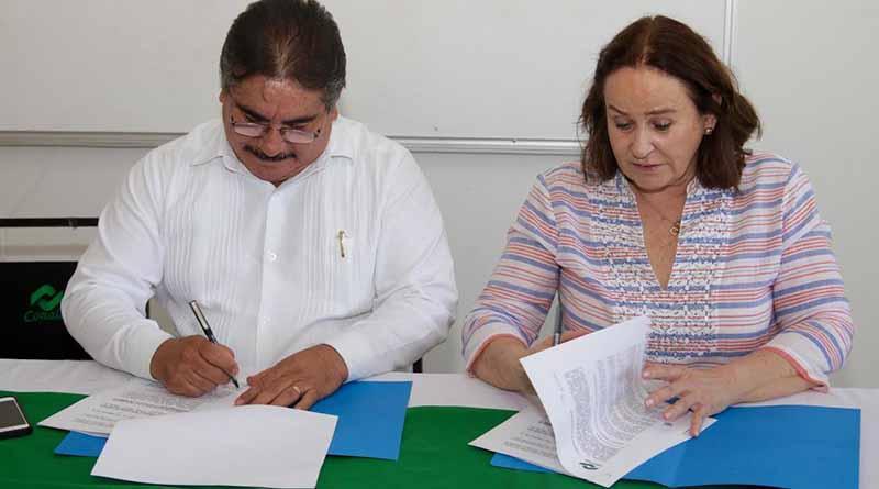 Firma convenio CONALEP con fundación QUESTRO en Los Cabos