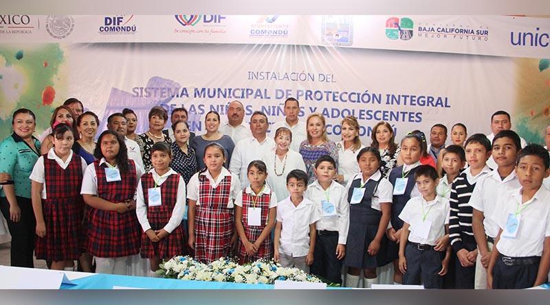 DIF Los Cabos instalará el Sistema Municipal de Protección Integral de las Niñas, Niños y Adolescentes