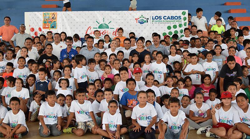 Delegación de Cabo San Lucas da inicio a los Cursos de Verano Deportivos