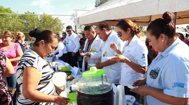 """Arranque de la """"Feria de la Alimentación, Activación Física y Consumo de Agua Simple"""