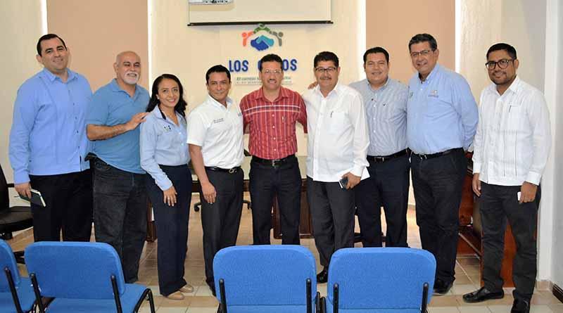 Reunión interinstitucional: ICATEBCS, CECATI Y EL H. XII Ayuntamiento De Los Cabos