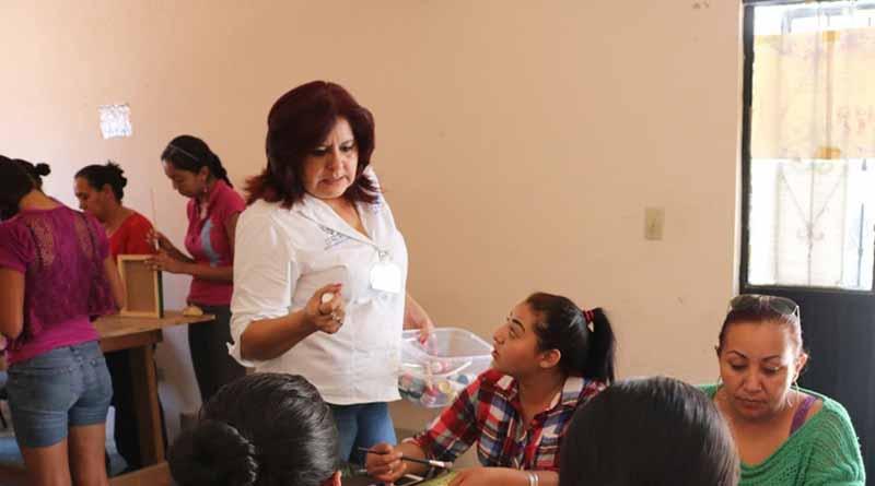 Instituto Municipal de la Mujer visita  la delegación de Los Dolores
