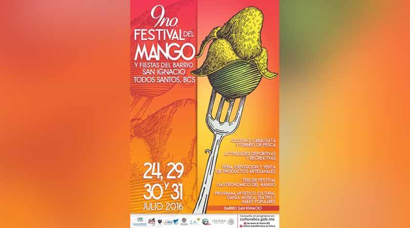 Todo listo para el Festival del Mango en Todos Santos: SECTURBCS
