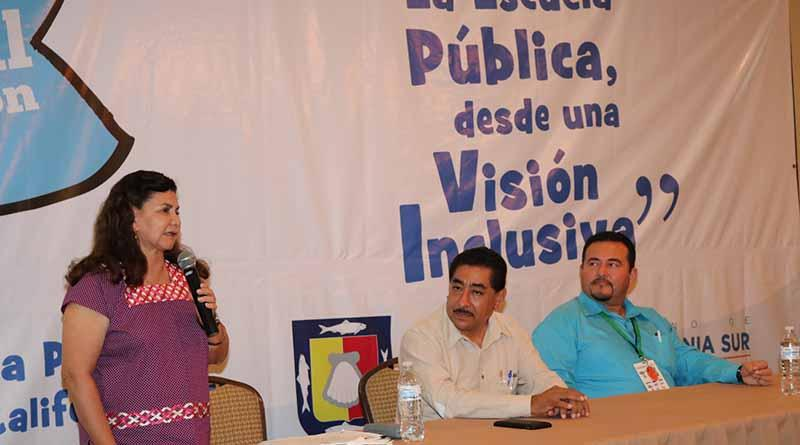 Fue elaborado con inclusión y diálogo el programa sectorial educativo de BCS 2015-2021: Oralia Bonilla