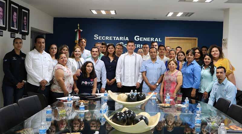 Vamos juntos gobierno y sociedad por un BCS más seguro: Álvaro de la Peña Angulo