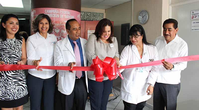 SSA Inaugura sala de lectura en centro estatal de transfusión sanguínea