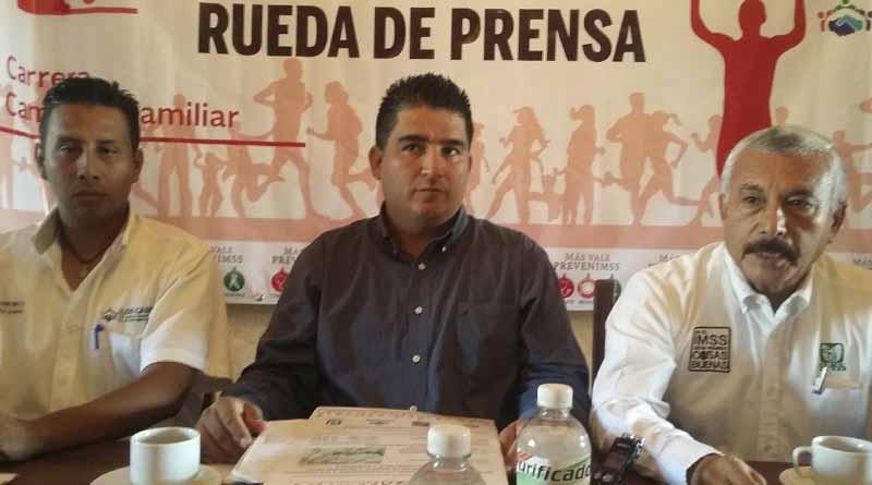"""Dan a conocer la cuarta carrera anual de 5 kilometros """"Corriendo por mi salud IMSS-CROC"""""""