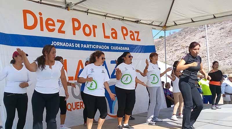 """Se realizan actividades recreativas en la jornada """"Diez Por La Paz"""""""