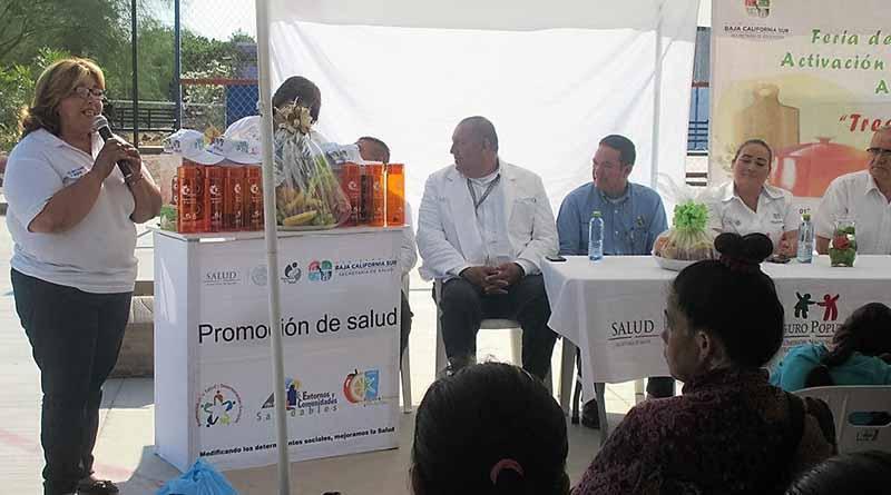 Ponen en Marcha Feria de la Alimentación, Activación Física Y Consumo de Agua Simple