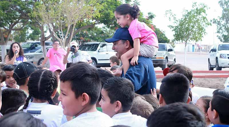 Encabeza Alcalde Francisco Pelayo, Activación Física