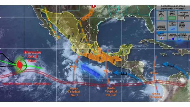 Zona de baja presión podría convertirse en huracán en las próximas 48 horas