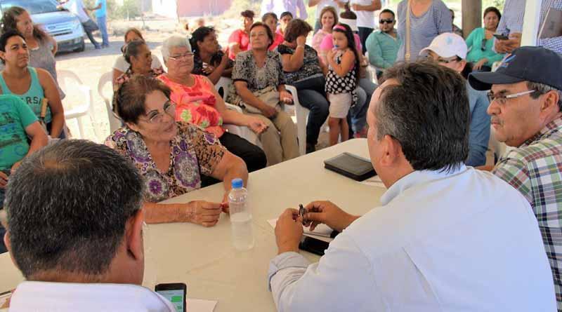 Atendemos personalmente a todos los habitantes de nuestro municipio: Francisco Pelayo